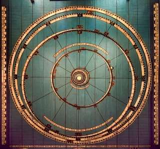 Het planetarium van Eisinga in Franeker, onderdeel van de Nederlandse canon