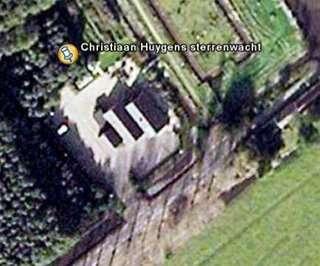 Sterrenwacht Christiaan Huygens op Google Earth