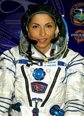 1e vrouwelijke ruimtereiziger Anousheh Ansari