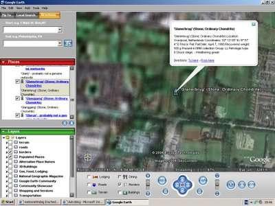 Google Earth toont Glanerbrug