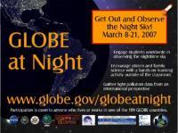 Sterren tellen met Globe at night
