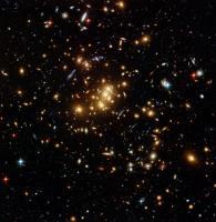 'Gewone' foto van de cluster ZwCl0024+1652