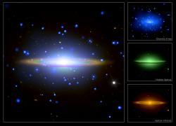 Het Sombrero-sterrenstelsel