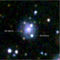 Dubbele supernova in MCG +05-43-16