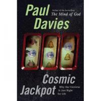 Omslag van Davies' boek Cosmic Jackpot