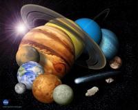 het einde van het zonnestelsel