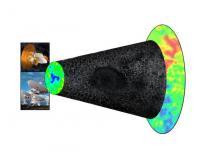 Voorstelling van de enorme leegte in de ruimte