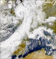 Komt er eind november een superstorm over Nederland?