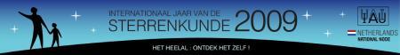 Banner van IYA2009