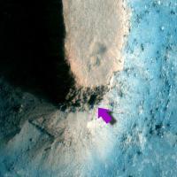 Een deuropening op Mars?