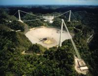 De grote radiotelescoop van Arecibo