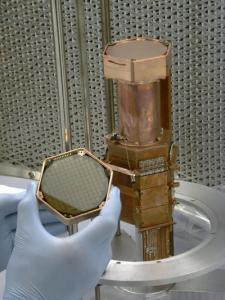Het germanium dat ze in het CDMS gebruikten