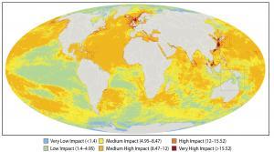 De invloed van menselijke verstoringen op zeeën en oceanen
