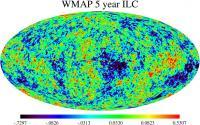 De WMAP-kaart van de kosmische achtergrondstraling