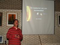 Edwin Mathlener schetst bij Huygens de toekomst van het zonnestelsel