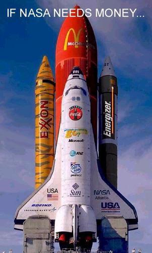 NASA commercieel?