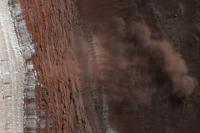 Een lawine op Mars!