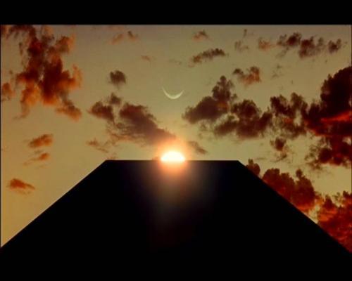 De monolith van A Space Odyssey