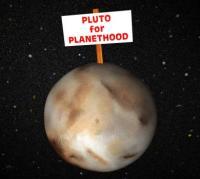 Pluto moet weer terug naar de planeetstatus
