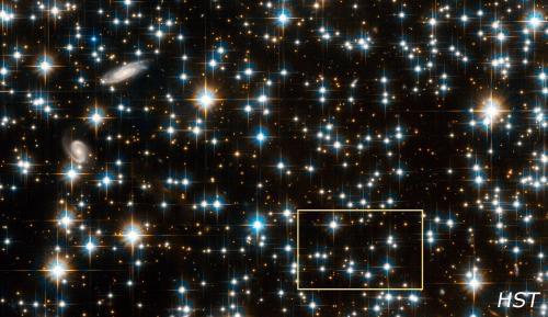 Deel van NGC 6791