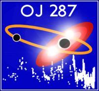 Het logo van het OJ287 project