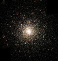Een bolvormige sterrenhoop