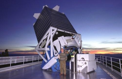 De 2,5m telescoop van APO