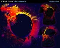 Black hole sun van aj Dimarucot