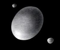 Haumea, Hi?iaka en Namaka