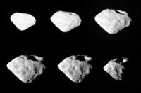 Mozaïek van de planetoïde Steins