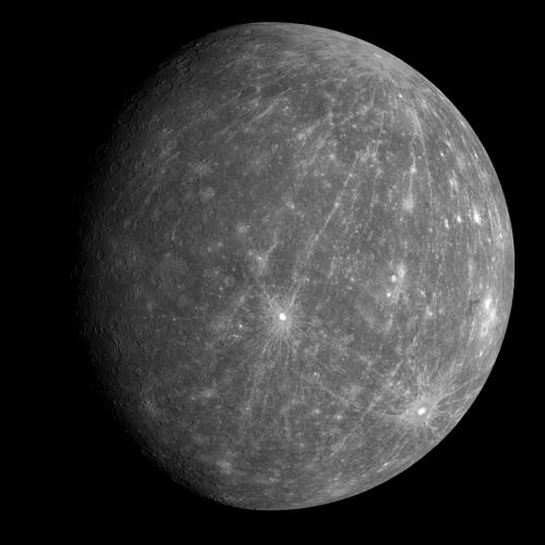 Mercurius in volle glorie