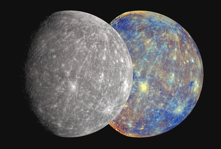 mercury the planet real color - photo #7