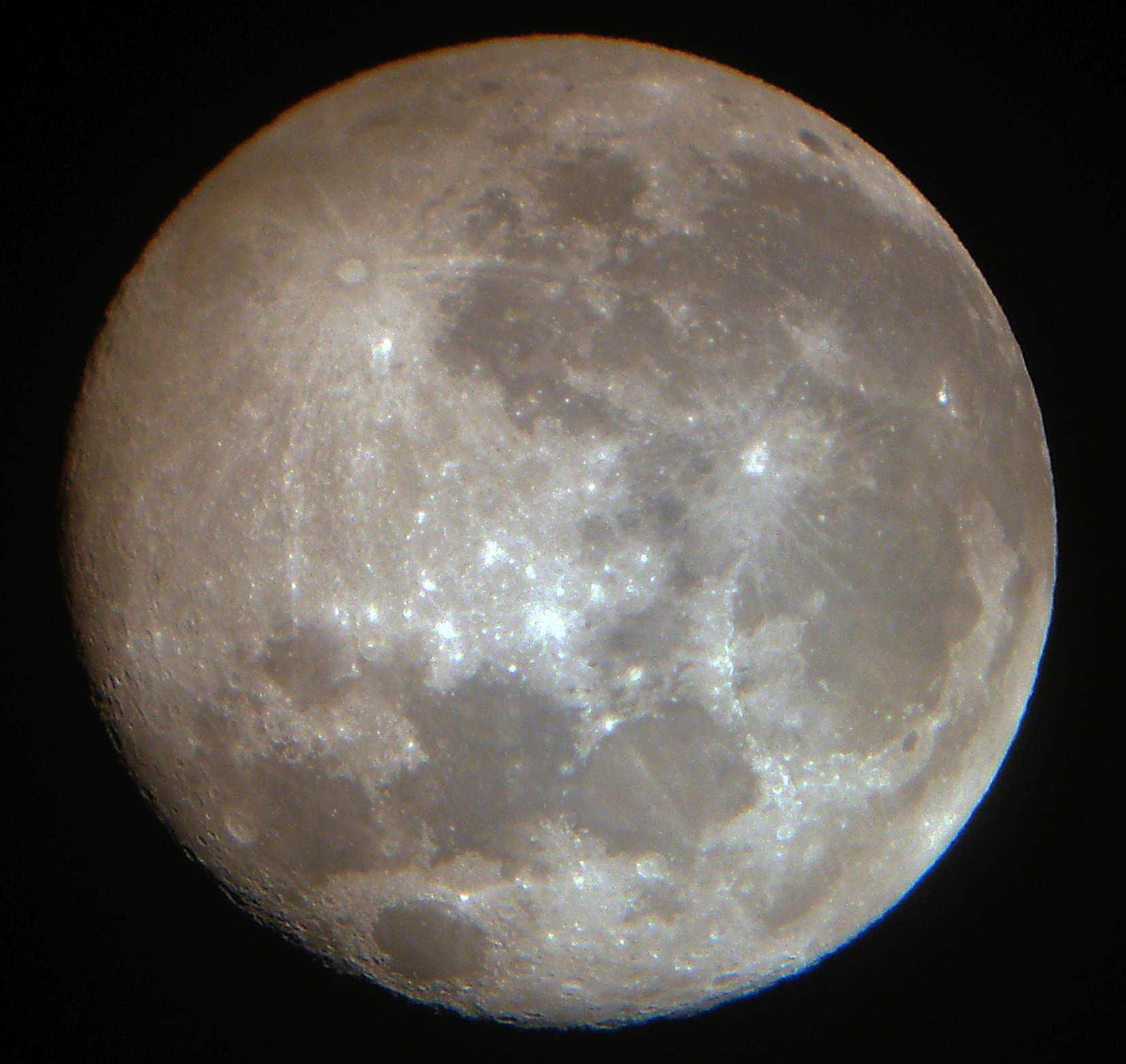 De Maan Vanuit De Apollo Bekeken