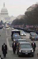 De inauguratie-parade
