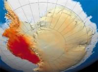 De Zuidpool, hoe roder hoe warmer
