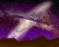 botsing van sterrenstelsels