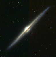 Stofbanden in NGC 4565