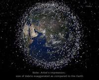 Maandag start ESA-conferentie over ruimteafval