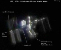 Het ISS door Ralph vandebergh