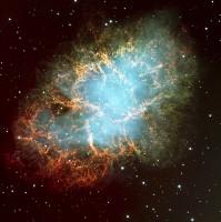 Dit was in 1054 een type II supernova