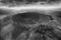 Prachtig plaatje van de Barringer Krater