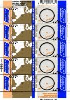 De Europazegels 2009