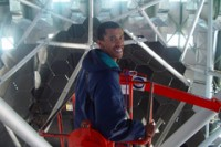 Govender ìn de SALT telescoop
