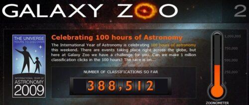 De Galaxy Zoo teller