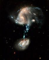 Arp 194 door jarige Hubble