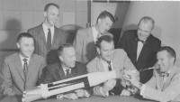 9 april 1959: dè Mercury 7 persconferentie