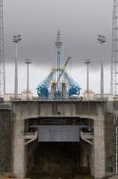 De Soyuz lanceerbasis