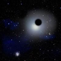Schurk-zwarte gaten struinen Melkweg af