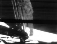 Armstrong tijdens hét moment