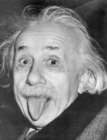 Een dure foto van Einstein